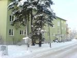 Huset i snö